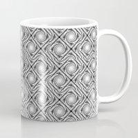Black And White Broken D… Mug