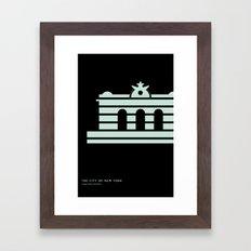 New York Skyline: Grand Central Terminal Framed Art Print