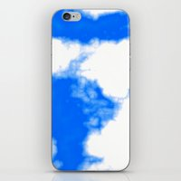 Blue Cloud iPhone & iPod Skin