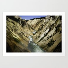 Grand Canyon of the Yellowstone Art Print