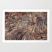 Tree Trunk Art Print
