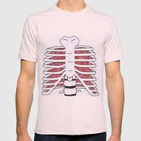 Internal Mens Fitted Tee Light Pink SMALL