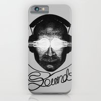 iPhone & iPod Case featuring Sounds by MARIA BOZINA - PRINT