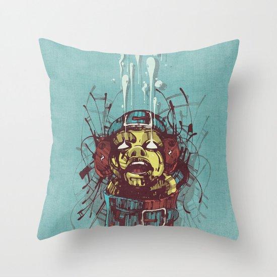 Propaganda II. Throw Pillow