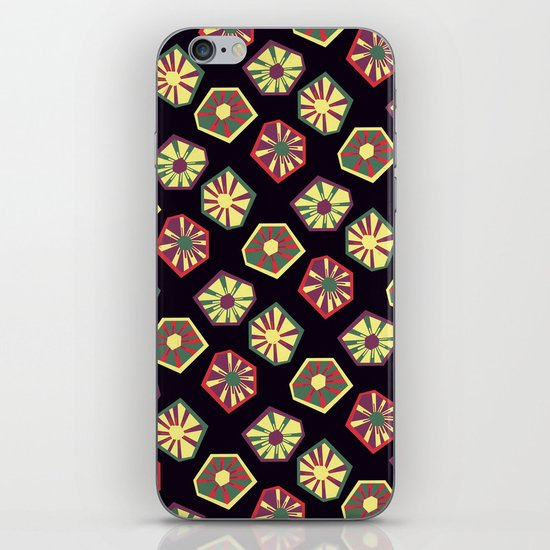 Bursting and Blooming iPhone & iPod Skin