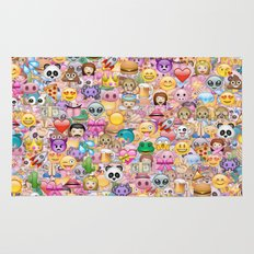 emoji / emoticons Rug
