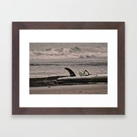 Surfboard 1 Framed Art Print