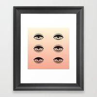 AWAKE ASLEEP Framed Art Print