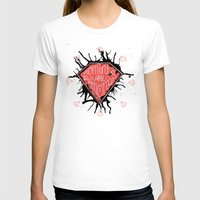 Moments are diamonds Womens Fitted Tee White SMALL