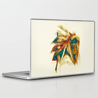 native american Laptop & iPad Skins featuring Native American by Jo Tan
