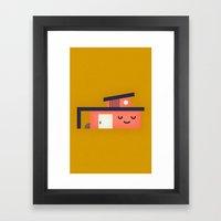 Modern Home Framed Art Print