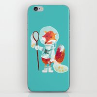 Catch The Falling Stars iPhone & iPod Skin