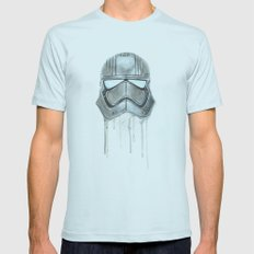 Captain Phasma - Empty Masks Mens Fitted Tee Light Blue SMALL