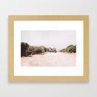 Above Turtle Bay Framed Art Print