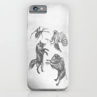 iPhone & iPod Case featuring Paper Dance by BPARSH