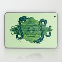Green Is The Color Of De… Laptop & iPad Skin