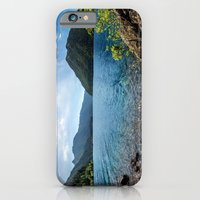 Lake Crescent Olympic Mountain Pano iPhone 6 Slim Case