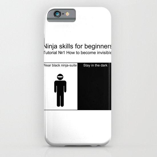 Ninja skills for beginers iPhone & iPod Case