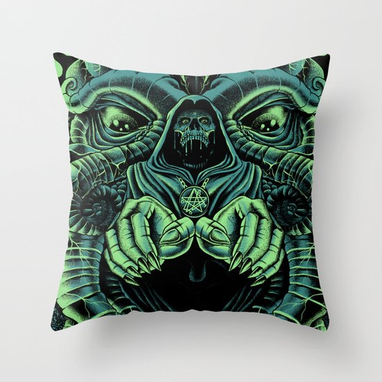 The Cultist Throw Pillow