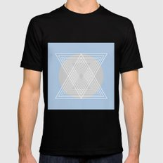Everything belongs to geometry #7 SMALL Black Mens Fitted Tee