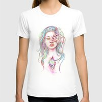 Kodama Womens Fitted Tee White SMALL