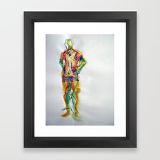 Sport Framed Art Print