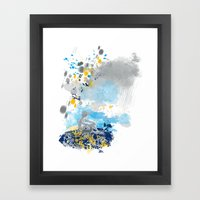 a room with view from asteroid B 612 _ the little prince Framed Art Print