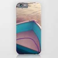iPhone & iPod Case featuring Sunset Boat by Shy Photog