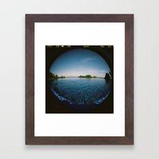 Horizonte Framed Art Print