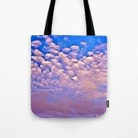 Strawberry Skies Tote Bag