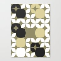 Deco Blocks Canvas Print