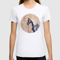 Vintage Horse  Womens Fitted Tee Ash Grey SMALL