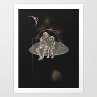Catch Your Own Star Art Print