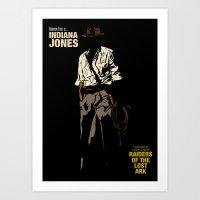 Indiana Jones: Raiders O… Art Print