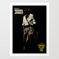 Indiana Jones: Raiders of the Lost Ark Art Print