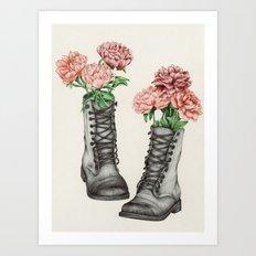 Shoe Bouquet III Art Print