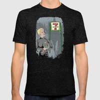 Resistance Is Futile Mens Fitted Tee Tri-Black SMALL