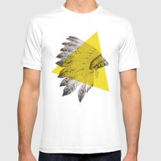 headdress Mens Fitted Tee SMALL White