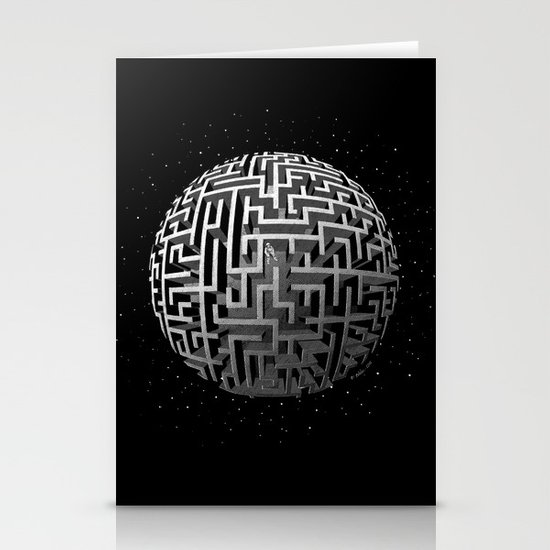 Lost in Space Stationery Card