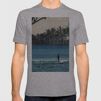 Aloha Mens Fitted Tee Athletic Grey SMALL