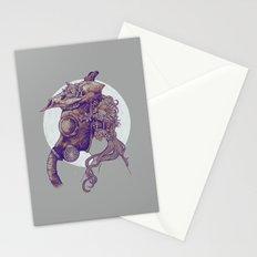 Gas Mask Stationery Cards