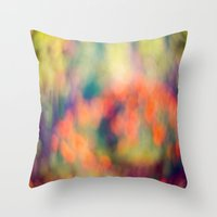 Layers of Joy 1 Throw Pillow