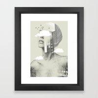 Town Facet Framed Art Print