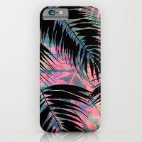 Maui Palm {Black A} iPhone 6 Slim Case