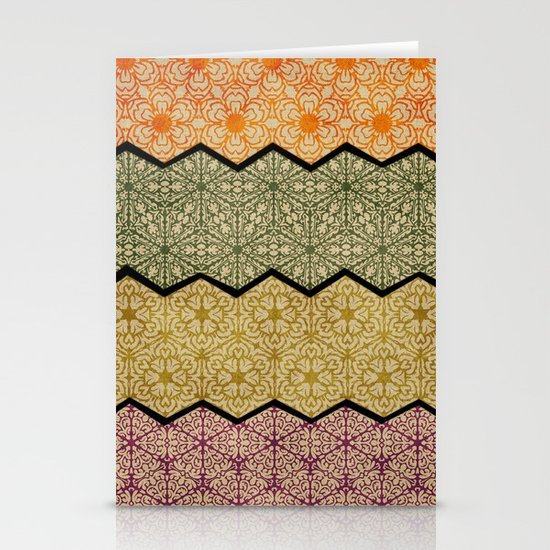 Pattern, Zig, Pattern, Zag, Repeat Stationery Card
