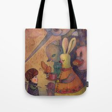 One Spring Day, While Ch… Tote Bag