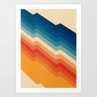 rainbow Art Prints featuring Barricade by Tracie Andrews