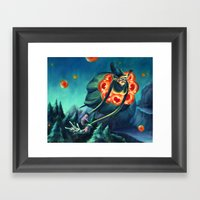 Morgue Anna Framed Art Print