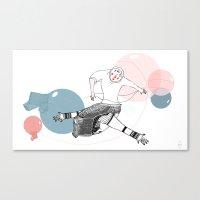 farewell bubbles  Canvas Print