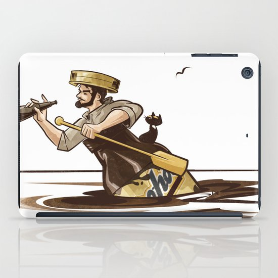 The Long Journey Down the Yoohoo River iPad Case